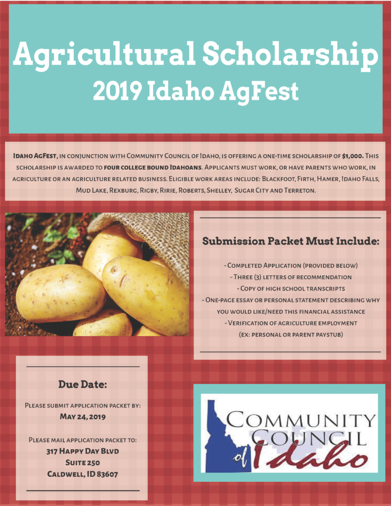 Scholarships – Community Council of Idaho