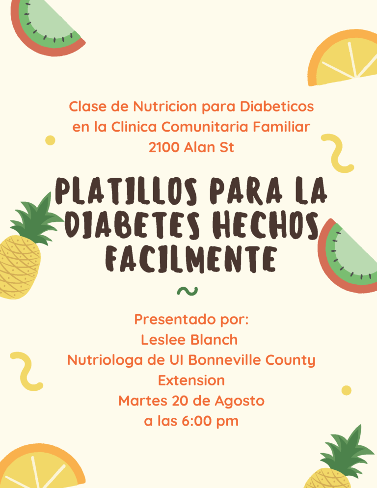CFC Diabetic Nutrition Class 8-20-19 (Spa)